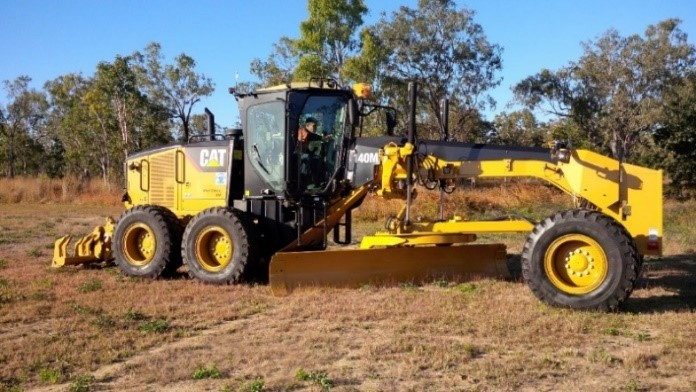 2011 Caterpillar 12M Grader with 14'blade Trimble GPS, Rear Rippers x 6 and Scarifiers x 12