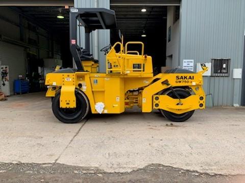 2019 Sakai GW750-2 Pneumatic Roller – Vibrating Multi-tyre Roller